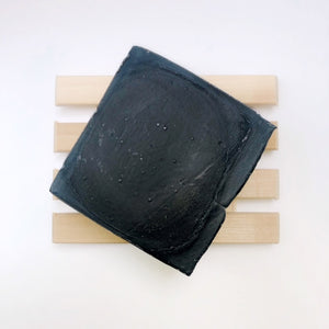PRE-ORDER: Charcoal Soap w/ Tea Tree Oil