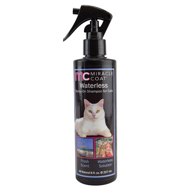 Waterless Shampoo for Cats