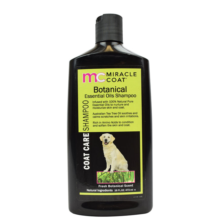 Specialty Dog Shampoos - Black Bottles
