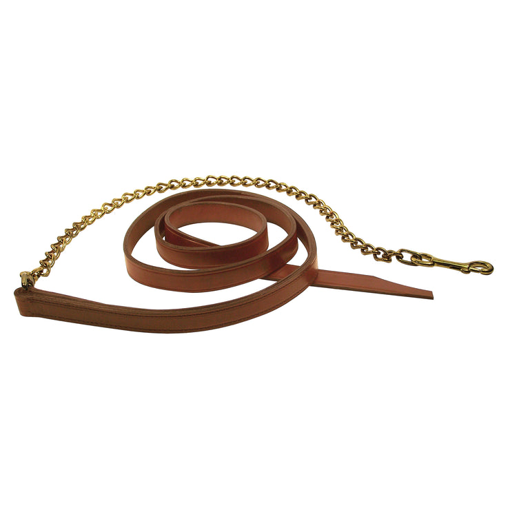 Quality Leather Leads with Chain