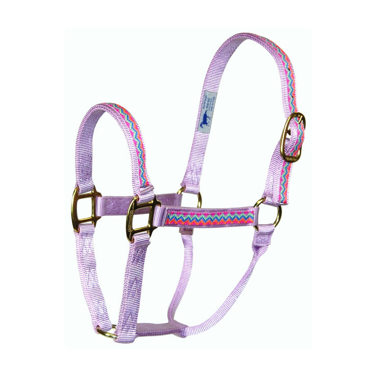 "1"" Quality Nylon Halters with Weave Overlay - Halter - Hamilton - Miracle Corp"
