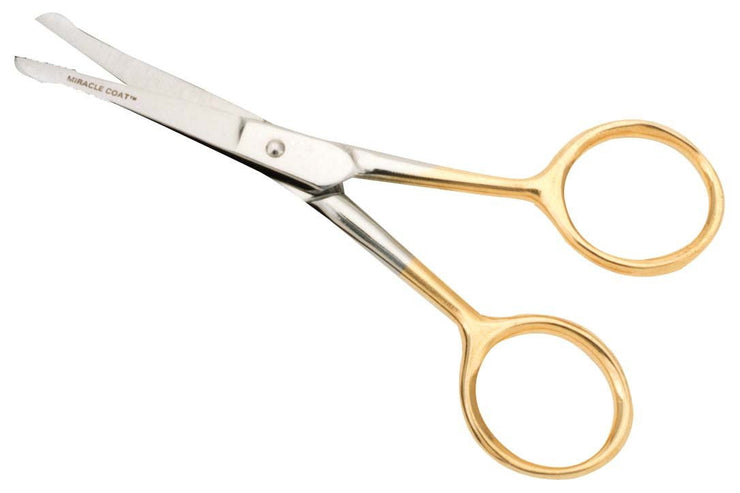 "4"" Ball Tipped Shears for Cats - Shear - Miracle Coat - Miracle Corp"