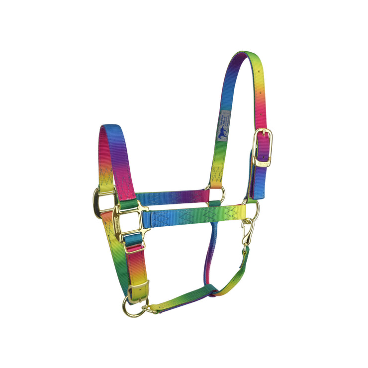 "3/4"" Quality Nylon Halters with Adjustable Chin Strap & Snap"