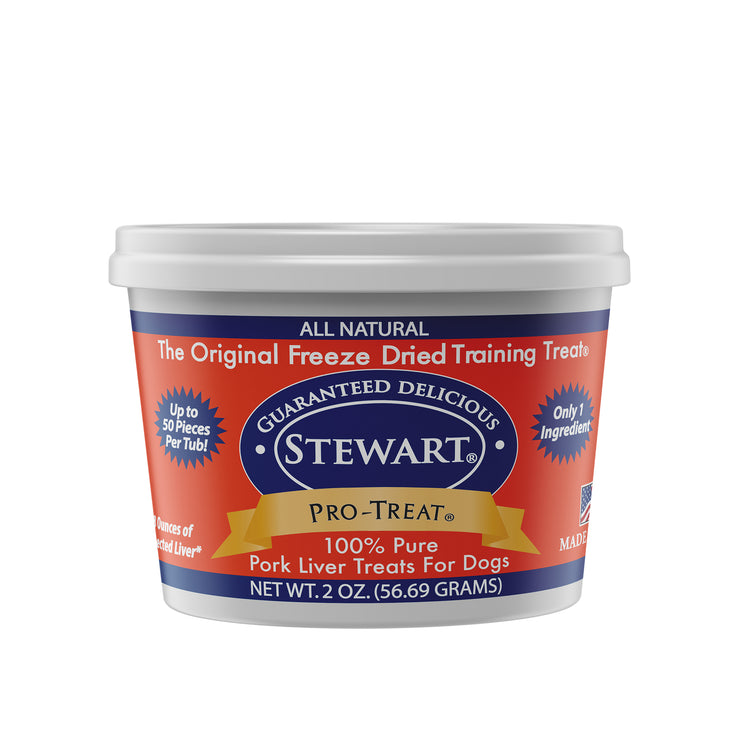 Pork Liver Pro-Treat Tubs