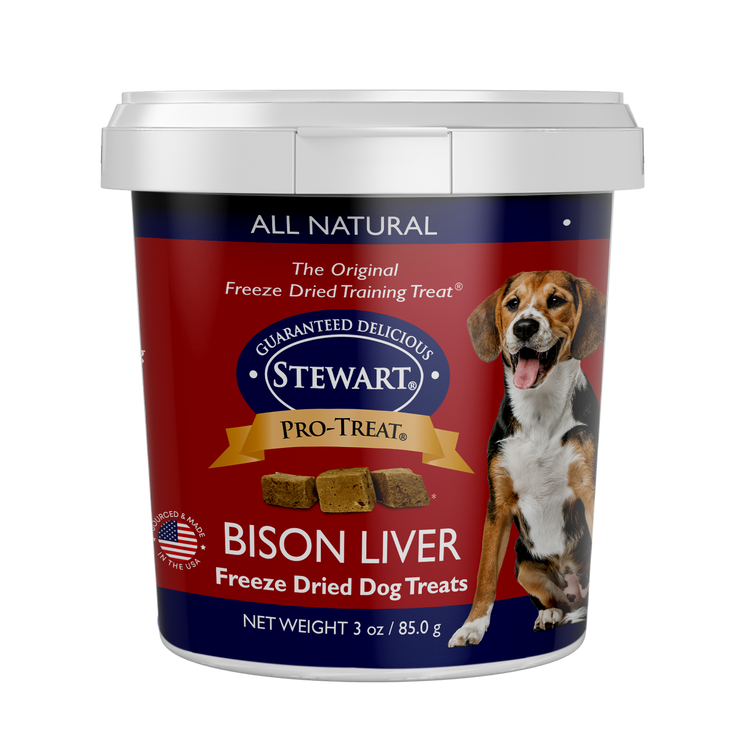 Bison Liver Pro-Treat Tubs