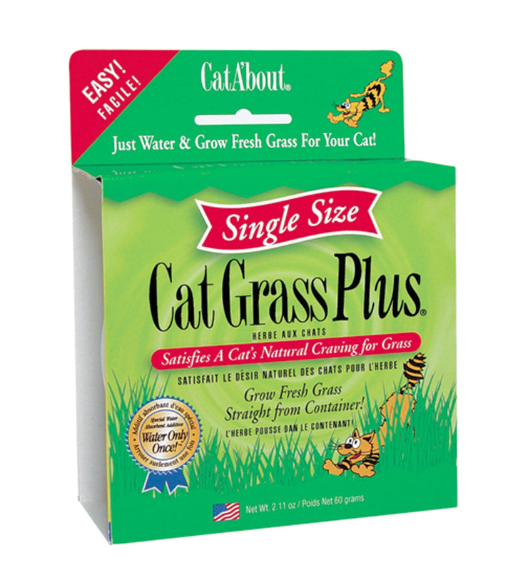Cat A'bout Cat Grass Plus - Grass - Miracle Care - Miracle Corp