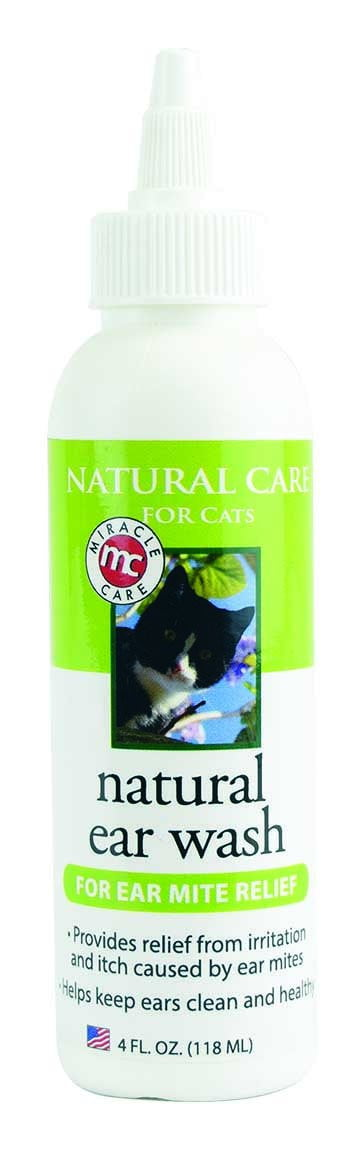 Natural Ear Wash for Cats - Ear Wash - Miracle Care - Miracle Corp
