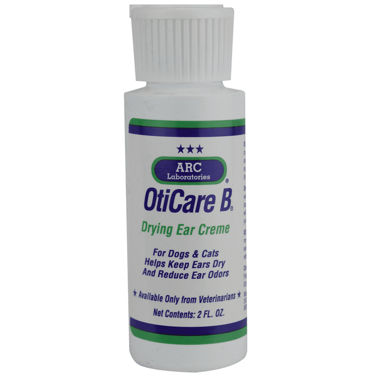 OtiCare B Drying Ear Creme, 2 oz - Ear Care - ARC Laboratories - Miracle Corp