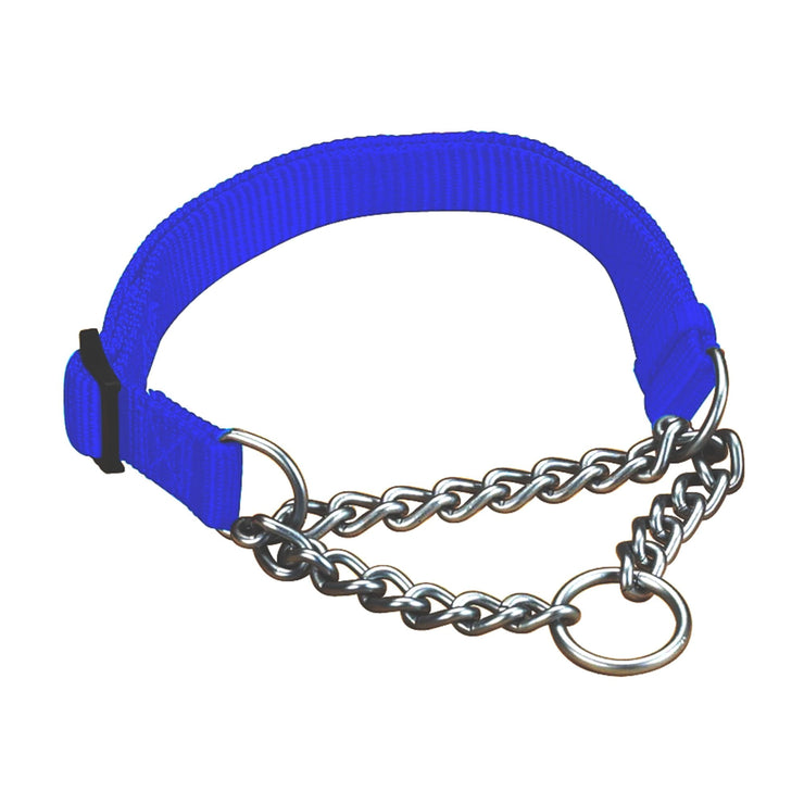 Chain Martingale Collar with Nylon - Collar - Hamilton - Miracle Corp