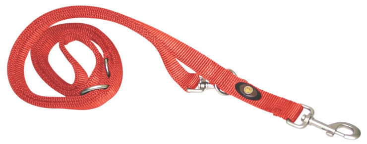 Designer Double Thick Euro/Multi-Use Leash with Brushed Nickel Finish - Leash - Hamilton - Miracle Corp