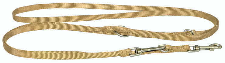 Designer Single Thick Euro/Multi-Use Leash with Brushed Nickel Finish - Leash - Hamilton - Miracle Corp