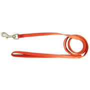 Single Thick 4' Leashes with Brushed Nickel Finish