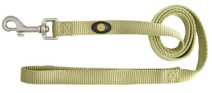 Designer Single Thick Leash with Brushed Nickel Finish - Leash - Hamilton - Miracle Corp