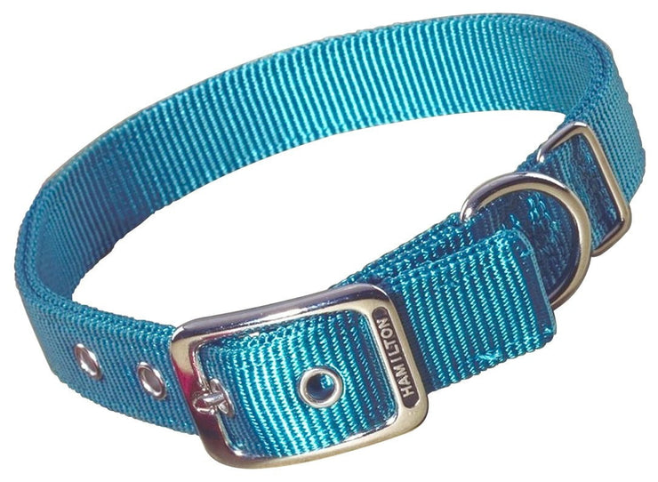 "Classic Double Thick Buckle Collars, Large, 28"" - 32"" - Collar - Hamilton - Miracle Corp"