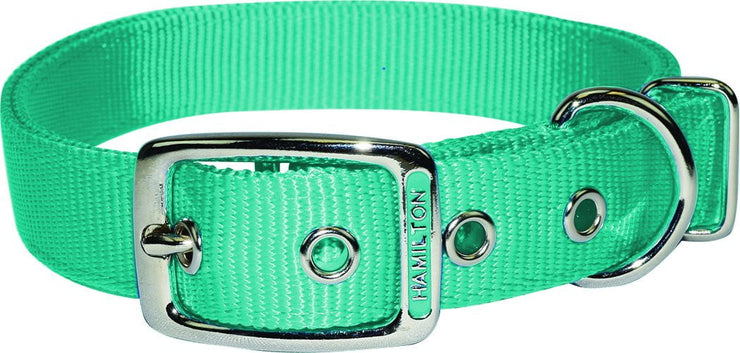 "Classic Double Thick Buckle Collars, Large 18"" - 26"" - Collar - Hamilton - Miracle Corp"