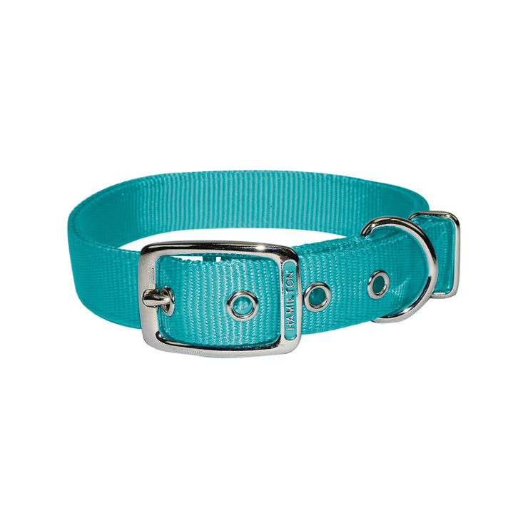 "Classic Double Thick Buckle Collars, Large, 26"" - 32"""