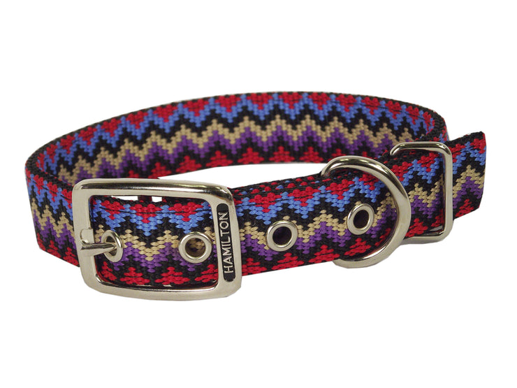 Double Thick Weave Buckle Collar