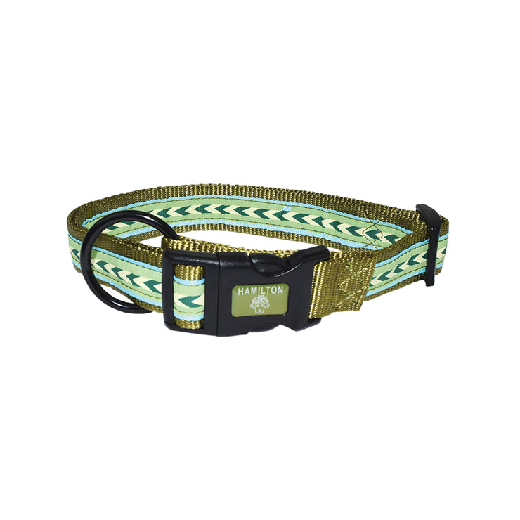 Adjustable Collars with Ribbon Overlay