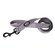 Single Thick 6' Leashes with Gunmetal Finish