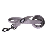 Single Thick 4' Leashes with Gunmetal Finish