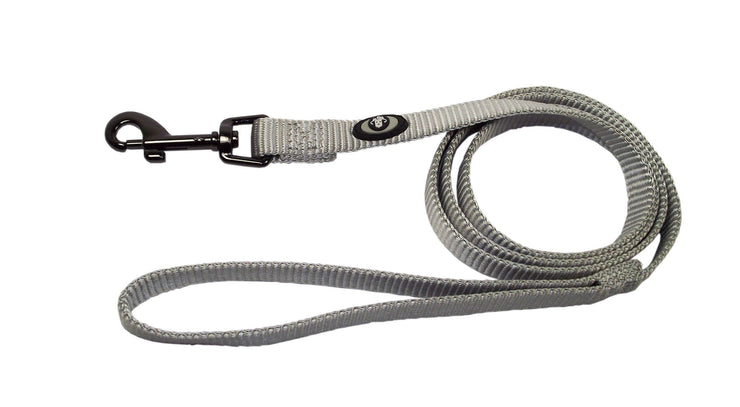 Designer Single Thick Leash with Gunmetal Finish - Leash - Hamilton - Miracle Corp