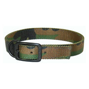 "Hunt/Sport Buckle Collar with Extended D-Ring, Large 18""-26"""