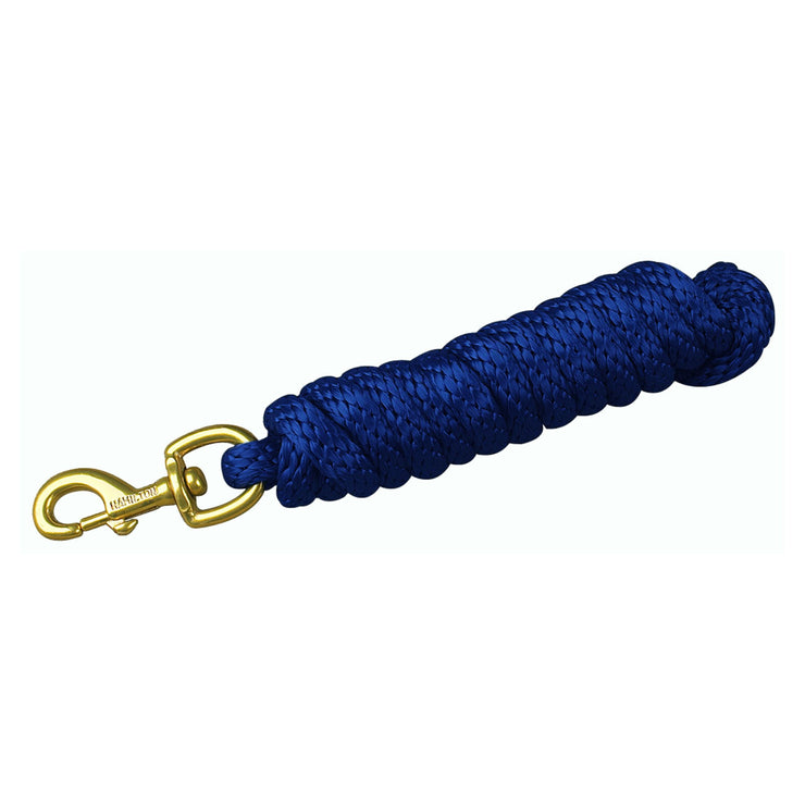 Poly Lead Rope with Bolt Snap, Single Color - Lead - Hamilton - Miracle Corp