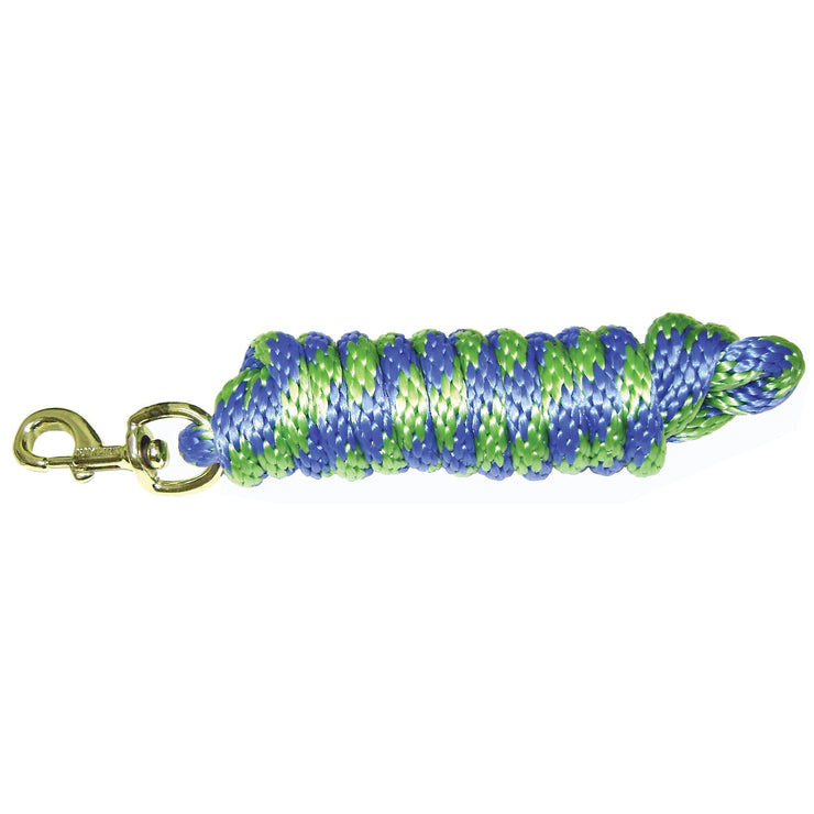 Poly Lead Rope with Bolt Snap, Multi-Color - Lead - Hamilton - Miracle Corp