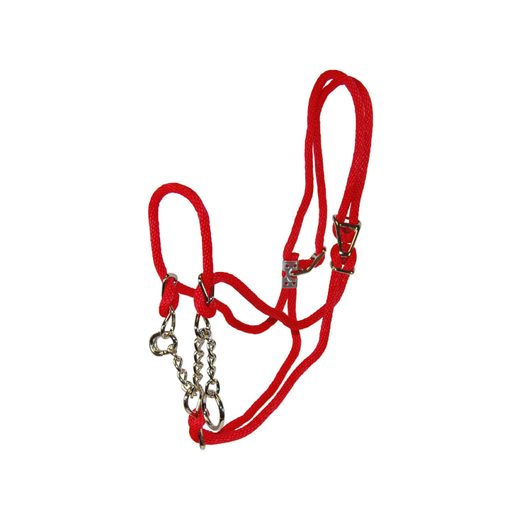 Rope Halter with Control Chain