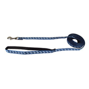 Toy Breed Fashion Single Thick Leash with Ribbon Overlay
