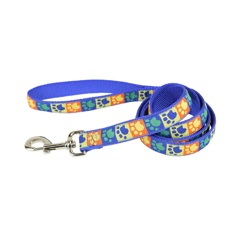 Fashion Single Thick Leash with Ribbon Overlay - Leash - Hamilton - Miracle Corp