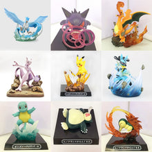 Laden Sie das Bild in den Galerie-Viewer, Pokemon Sammel Figuren - (Pikachu Articuno Gengar Charizard Mewtwo Lucario Squirtle Cyndaquil Snorlax) kaufen