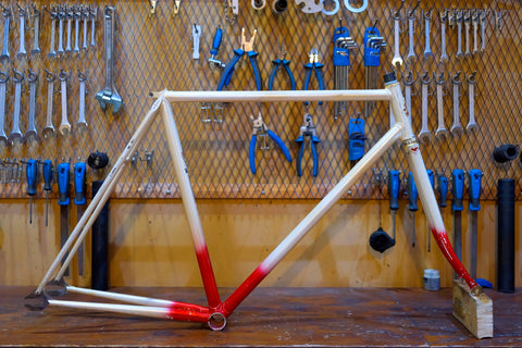 KING SPEED NJS Track Frame Set