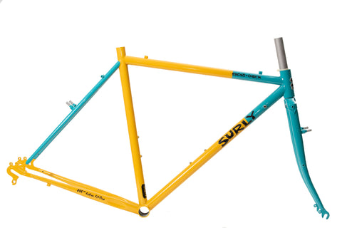 "SURLY Cross Check Frame Set ""Yeti Color"" By KYUTAI PAINT"