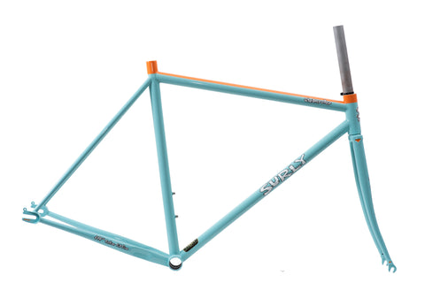 "SURLY Steamroller Frame Set ""Gulf Color"" BY KYUTAI PAINT"