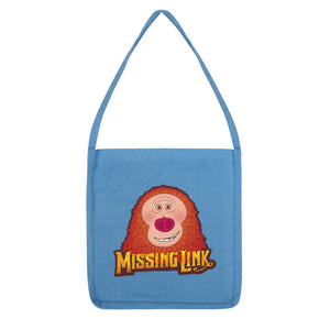 Missing Link Recycled Book Bag