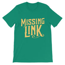 Load image into Gallery viewer, Missing Link Logo Unisex Short Sleeve T-shirt