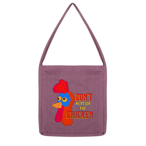 Don't Mention The Chicken Recycled Book Bag