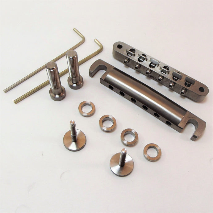 Tune-o-matic® style Titanium Bridge Kit