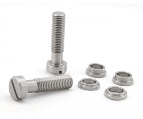 TITANIUM Locking Stud Set for Gibson® style stop tailpiece