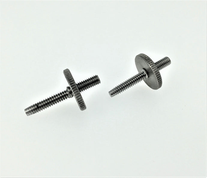 Titanium ABR Locking Riser Post & Thumbwheel Pair