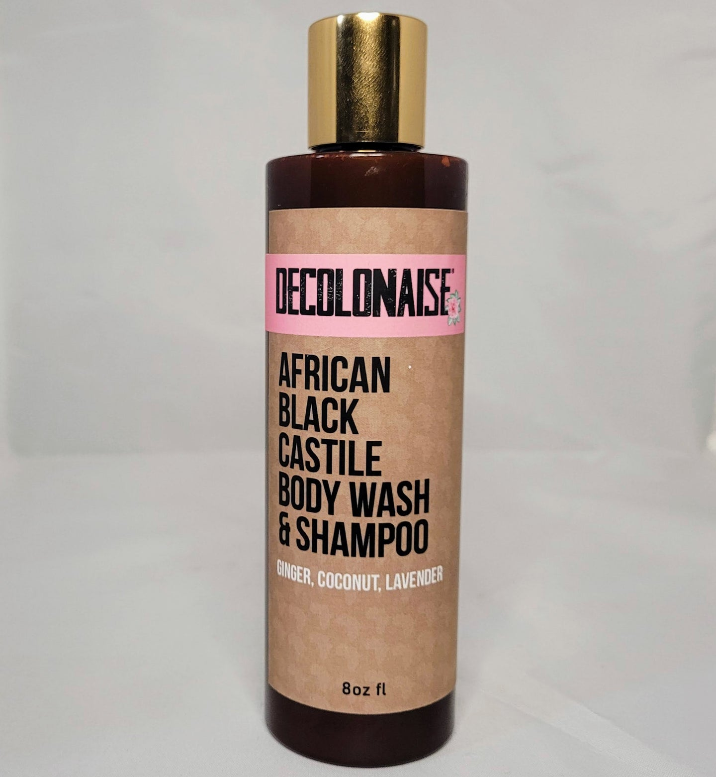 African Black Castile Body Wash and Shampoo
