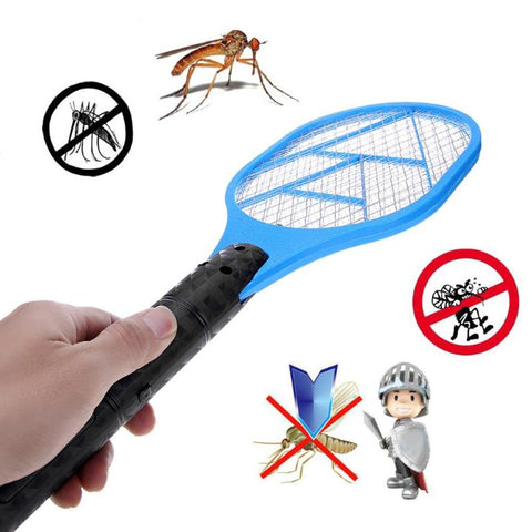 RAQUETE ANTI-MOSQUITO - Facilidades do click