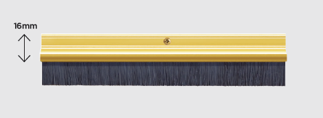Exitex brush strip 914mm gold