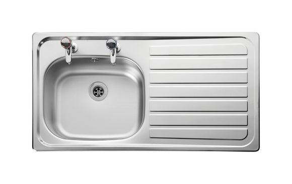 Sink [Inset] 950X508 R/Hand Dr Sb/Sd (Inc Waste)