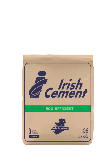 Irish Cement – Bag Cement – 25KG