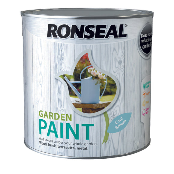 Ronseal Garden Paint 2.5L Cool Breeze