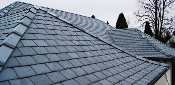 Tegral Slate Ridges 135° Blue Black