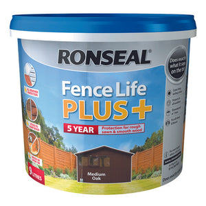 Fence Life Plus 9L Medium Oak