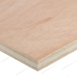 Plywood Hardwood Faced 8ft x 4ft Ce2+ 25mm